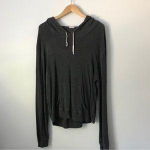 Brandy Melville dark grey hoodie